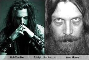 Rob Zombie Totally Looks Like Alan Moore