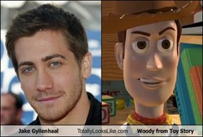 Jake Gyllenhaal Totally Looks Like Woody from Toy Story