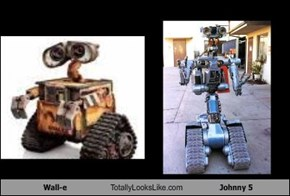 Wall-e Totally Looks Like Johnny 5