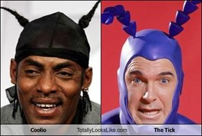 Coolio Totally Looks Like The Tick