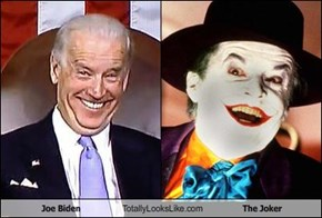 Joe Biden Totally Looks Like The Joker