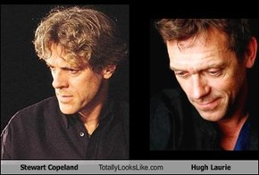 Stewart Copeland Totally Looks Like Hugh Laurie