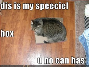 dis is my speeciel box u no can has