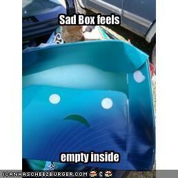 Sad Box feels