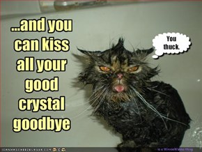 ...and you can kiss all your good crystal goodbye
