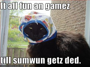 It all fun an gamez  till sumwun getz ded.