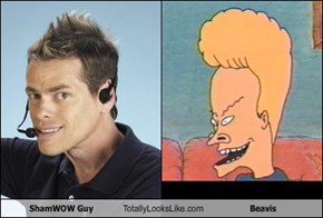 ShamWOW Guy Totally Looks Like Beavis