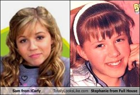 Sam from iCarly Totally Looks Like Stephanie from Full House