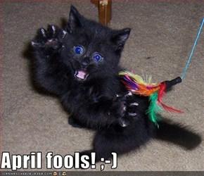 April fools! ;-)