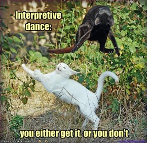 Interpretive dance: