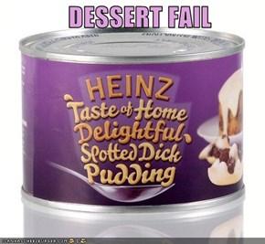 DESSERT FAIL