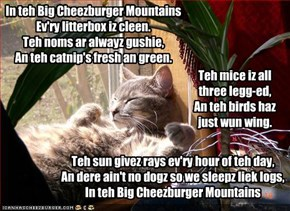 In teh Big Cheezburger Mountains