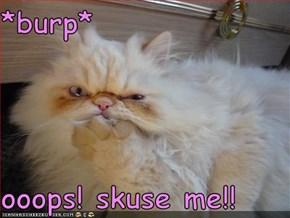 *burp*  ooops! skuse me!!