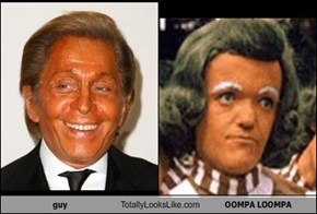 guy Totally Looks Like OOMPA LOOMPA