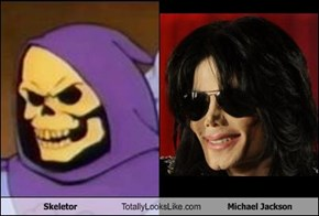 Skeletor Totally Looks Like Michael Jackson