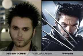 Dero from OOMPH! Totally Looks Like Wolverine
