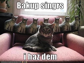 Bakup singrs  i haz dem