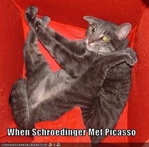 When Schroedinger Met Picasso