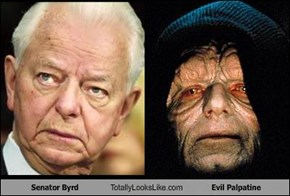Senator Byrd Totally Looks Like Evil Palpatine