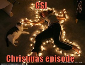 CSI  Christmas episode