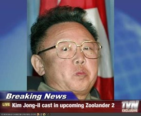 Breaking News - Kim Jong-il cast in upcoming Zoolander 2