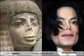 Sphinx    Totally Looks Like Michael Jackson