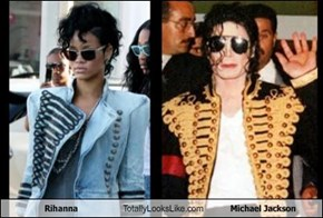 Rihanna Totally Looks Like Michael Jackson