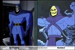 Dr.Destiny Totally Looks Like Skeletor