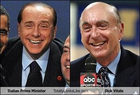 Italian Prime Minister Totally Looks Like Dick Vitale