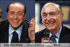 Italian Prime Minister Totally Looks Like Dicky V