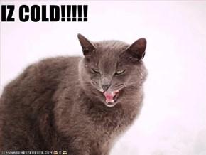 IZ COLD!!!!!