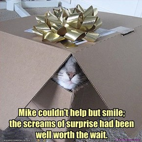 Mike couldn't help but smile; 