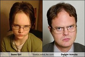Some Girl Totally Looks Like Dwight Schrute