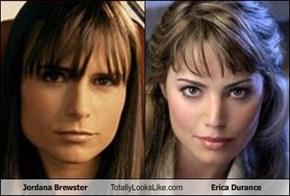 Jordana Brewster Totally Looks Like Erica Durance