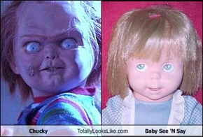 Chucky Totally Looks Like Baby See 'N Say