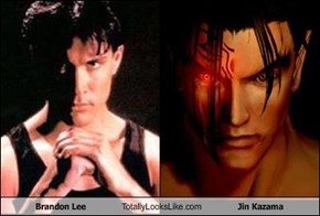 Brandon Lee Totally Looks Like Jin Kazama