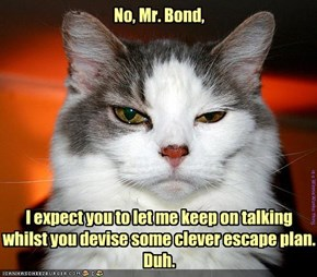 No, Mr. Bond,