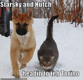 Starsky and Hutch  headin to teh Torino
