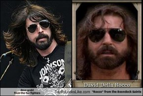 "dave grohl  from the foo fighters Totally Looks Like ""Rocco"" from the Boondock Saints"