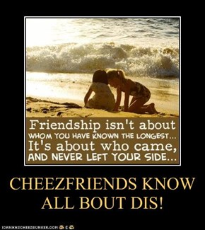 CHEEZFRIENDS KNOW ALL BOUT DIS!