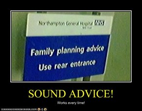 SOUND ADVICE!