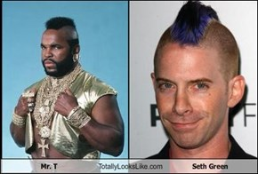 Mr. T Totally Looks Like Seth Green