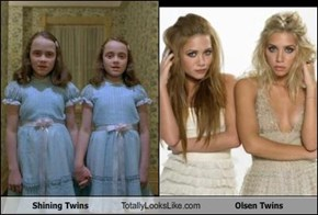 Shining Twins Totally Looks Like Olsen Twins