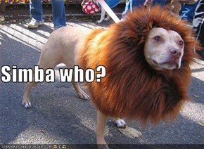 Simba who?