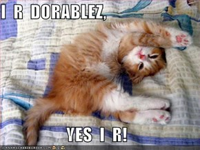 I  R  DORABLEZ,  YES  I  R!