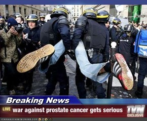Breaking News - war against prostate cancer gets serious