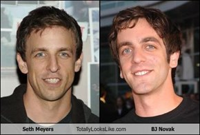 Seth Meyers Totally Looks Like BJ Novak