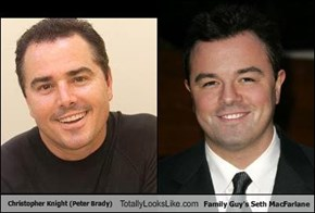 Christopher Knight (Peter Brady) Totally Looks Like Family Guy's Seth MacFarlane
