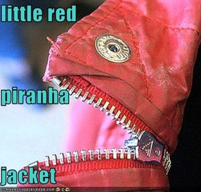 little red piranha  jacket