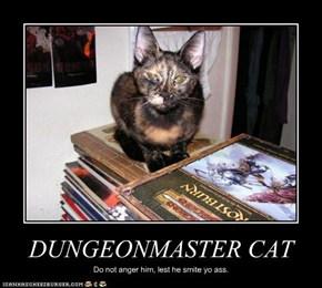 DUNGEONMASTER CAT